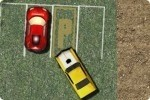Amerikanisches Auto parken