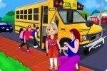 Auf dem Schulweg