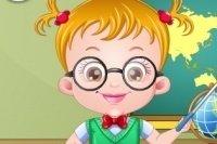 Baby Hazel Lehrerin