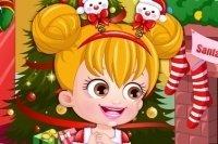 Baby Hazel Weihnachten