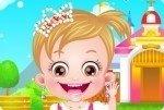 Baby Hazel als Prinzessin