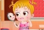 Baby Hazel Hautprobleme