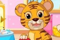 Baby Tiger versorgen