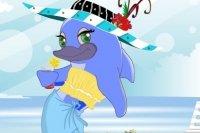 Delphin Diva ankleiden