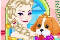 Elsa Adoptiert ein Haustier