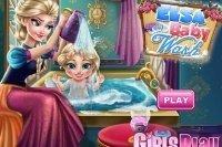 Elsa Baby baden