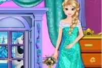 Elsas Schloss Aufräumen