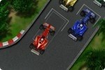 Formel 1 Rennwagen parken
