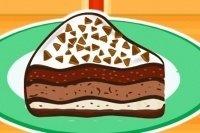 Frischer Eiskuchen