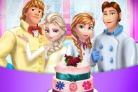 Frozen Wedding Cake
