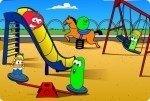 Gemüse im Spielplatz