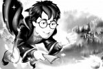Harry Potter Malvorlage