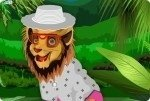 Löwen ankleiden