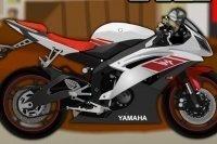 Motorrad zusammenbauen
