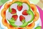 Obstkuchen backen