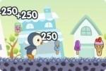 Pinguine Eisrennen