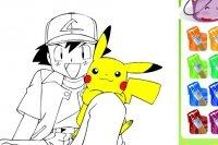 Pokemon Ausmalbild
