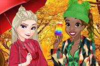 Prinzessinnen Herbstoutfit