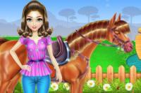 Reiten und Pferdepflege