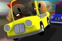 Sim Taxi Bubble Stadt