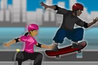 Skater-Mathe