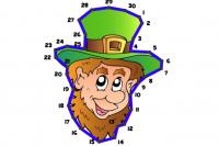 St. Patricks Linien-Puzzle