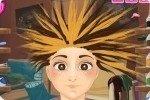 Verrückter Haarschnitt