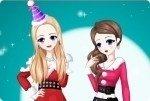 Weihnachten Freundinnen