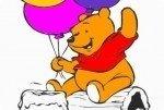 Winnie Pu der Bär ausmalen