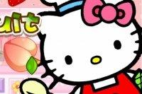 Hello Kitty Fruit Chopping