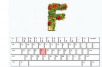 Schnelles Weihnachts-Tippen