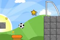 Schwerkraft Fußball